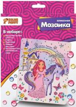 Мозаика алмазная Color Puppy Принцесса с единорогом