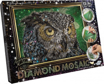 Мозаика алмазная Diamond Mosaic Сова