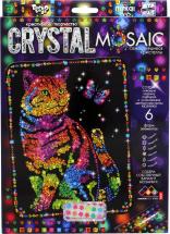Мозаика алмазная Crystal Mosaic Кот с бабочкой