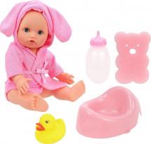 Кукла Mary Poppins Пошли купаться, розовый