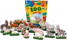 Фигурки животных Лидер Zoo party. Домашние животные 18 шт