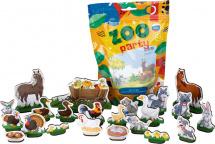 Фигурки животных Лидер Zoo party. Домашние животные 22 шт