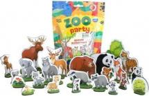 Фигурки животных Лидер Zoo party. Дикие животные 24 шт