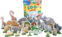 Фигурки животных Лидер Zoo party. Животные Африки 24 шт