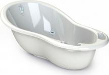 Ванночка Kidwick Шатл с термометром, белый/бирюзовый