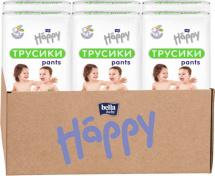 Набор трусиков Bella Happy Maxi 4 (8-14 кг) 6 пачек по 44 штук
