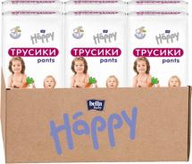 Набор трусиков Bella Happy Junior 5 (11-18 кг) 6 пачек по 40 штук