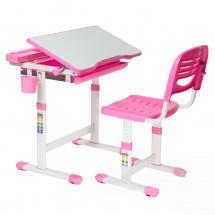 Парта-трансформер FunDesk Cantare Pink + стул