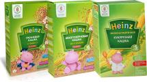 Набор каш Heinz Первый прикорм 3 шт по 200 г