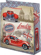 Пакет подарочный London 26х32 см