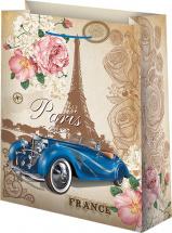 Пакет подарочный France 26х32 см
