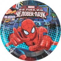 Набор тарелок Человек-паук 23 см, 6 шт
