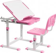 Парта-трансформер FunDesk Cubby Sorpresa Pink + стул