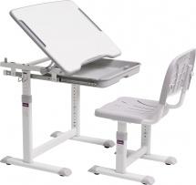 Парта-трансформер FunDesk Cubby Sorpresa Grey + стул