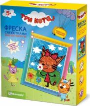 Фреска с блестками Elf Market Три кота Карамелька