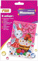 Мозаика алмазная Color Puppy Зайчик с пирожным
