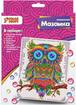 Мозаика алмазная Color Puppy Сова