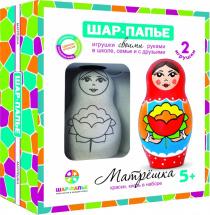 Игрушка-раскраска Шар-Папье Матрешка