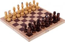 Шахматы Орловская ладья ДВП обиходные лакированнные