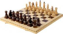 Шахматы Орловская ладья обиходные инкрустированные