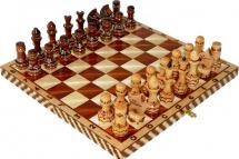 Шахматы Орловская ладья обиходные художественные инкрустированные