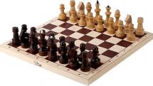 Шахматы Орловская ладья обиходные парафинированные без подклейки
