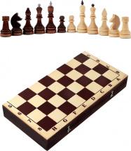 Шахматы Орловская ладья турнирные парафинированные с темной доской