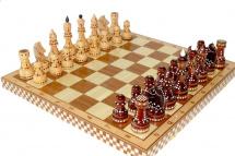 Шахматы Орловская ладья турнирные художественные инкрустированные