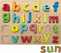 Вкладыши Mapacha Английский алфавит