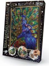 Мозаика алмазная Diamond Mosaic Павлин