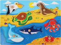 Вкладыши Mapacha Животные океана