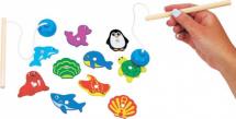 Игра рыбалка Mapacha Ловим морских животных 10 элементов