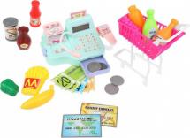 Касса Супермаркет со светом и звуком 26 предметов
