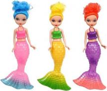 Кукла-русалка со светом, цвет микс