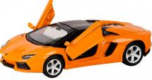 Машинка Пламенный мотор Lamborghini Aventador, оранжевый