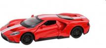 Машинка Пламенный мотор Ford GT, красный