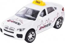 Машинка Пламенный мотор Кроссовер Такси со светом и звуком
