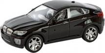 Машинка Пламенный мотор Кроссовер со светом и звуком, черный