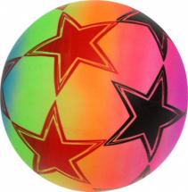 Мяч Футбол 22 см, неон микс