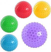 Массажный мячик Наша игрушка 20 см, микс