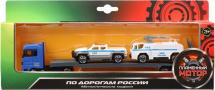 Машинки Пламенный мотор Полиция с водометом