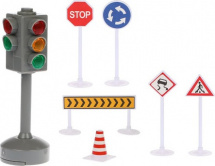 Дорожные знаки Пламенный мотор ПДД со светом и звуком