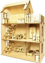 Кукольный домик Polly ECO Дом с мебелью