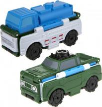 Автовывернушки 1Toy Transcar. Автоцистерна/Внедорожник