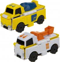 Автовывернушки 1Toy Transcar. Бетономешалка/Экскаватор