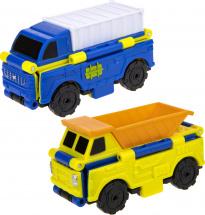 Автовывернушки 1Toy Transcar. Автофургон/Самосвал