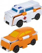 Автовывернушки 1Toy Transcar. Скорая помощь/Кроссовер