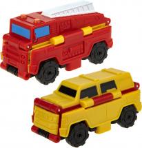 Автовывернушки 1Toy Transcar. Пожарная машина/Джип