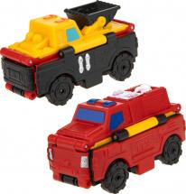Автовывернушки 1Toy Transcar. Погрузчик/Пожарная машина