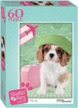 Пазлы Steppuzzle Studio Pets By Myrna. Мирна 60 элементов